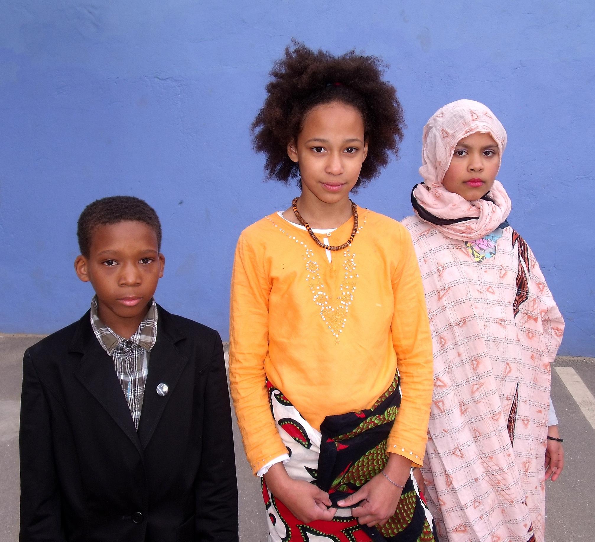 Mandula und ihre Familie