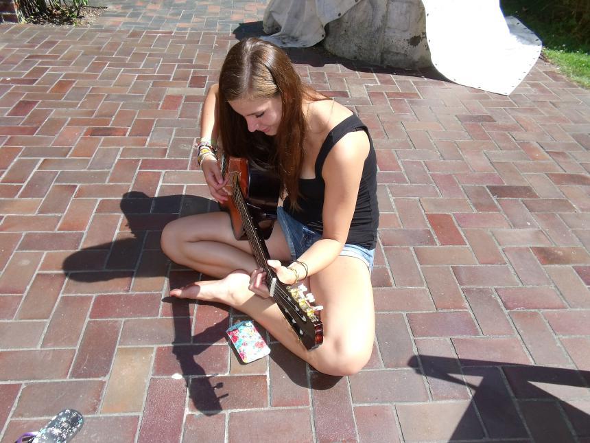 Luka und die Gitarre