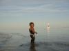 Darryn im Wasser